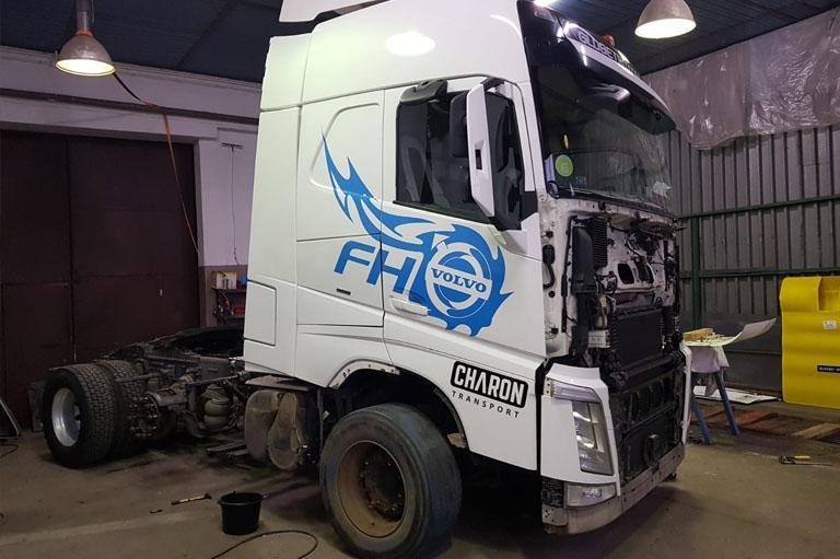 Seriws iwarsztat ciężarówek